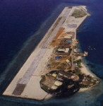 Airstrip on Spratly island